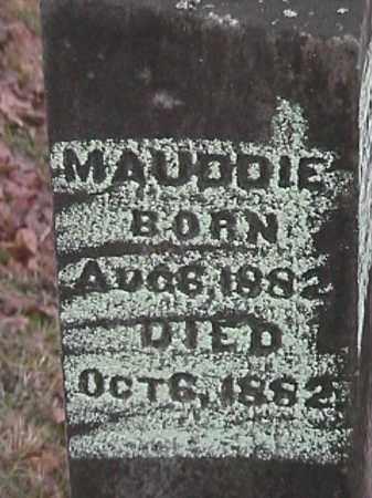 NICKELS, MAUDDIE - Champaign County, Ohio | MAUDDIE NICKELS - Ohio Gravestone Photos
