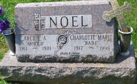 ALLEN NOEL, CHARLOTTE MARIE - Champaign County, Ohio   CHARLOTTE MARIE ALLEN NOEL - Ohio Gravestone Photos