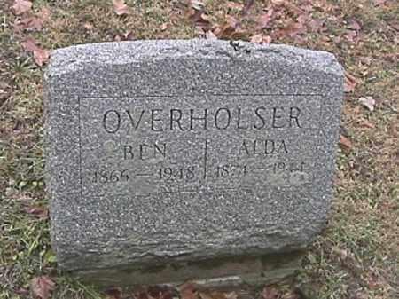 OVERHOLSER, ALDA - Champaign County, Ohio | ALDA OVERHOLSER - Ohio Gravestone Photos
