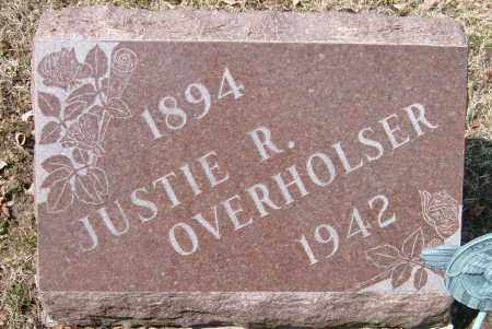 OVERHOLSER, JUSTIE R. - Champaign County, Ohio | JUSTIE R. OVERHOLSER - Ohio Gravestone Photos