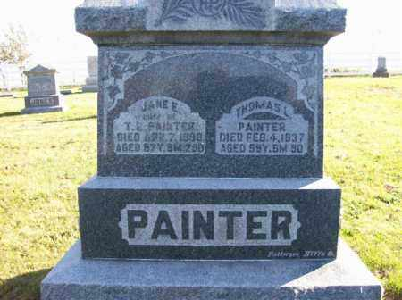PAINTER, THOMAS L - Champaign County, Ohio | THOMAS L PAINTER - Ohio Gravestone Photos