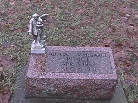 PENCE, ABIGAIL MARGARET - Champaign County, Ohio   ABIGAIL MARGARET PENCE - Ohio Gravestone Photos