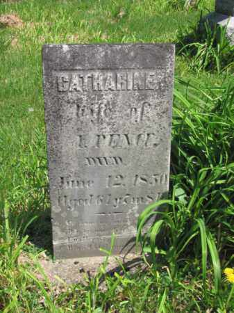 PENCE, CATHERINE - Champaign County, Ohio   CATHERINE PENCE - Ohio Gravestone Photos
