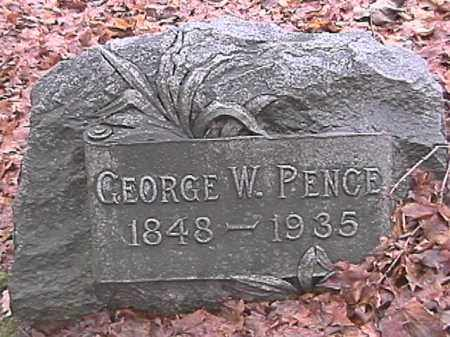 PENCE, GEORGE W. - Champaign County, Ohio | GEORGE W. PENCE - Ohio Gravestone Photos