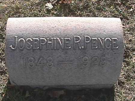 PENCE, JOSEPHINE R. - Champaign County, Ohio | JOSEPHINE R. PENCE - Ohio Gravestone Photos
