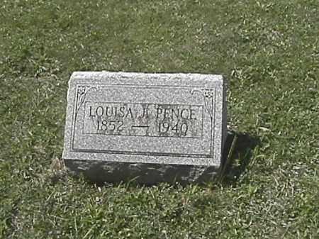 APPLE PENCE, LOUISA JANE - Champaign County, Ohio | LOUISA JANE APPLE PENCE - Ohio Gravestone Photos