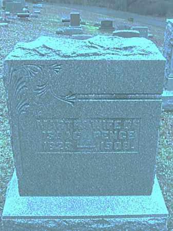PENCE, MARTHA BROWN - Champaign County, Ohio | MARTHA BROWN PENCE - Ohio Gravestone Photos
