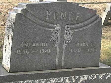 APPLE PENCE, DORA ELLEN - Champaign County, Ohio   DORA ELLEN APPLE PENCE - Ohio Gravestone Photos