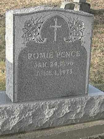 PENCE, ROMIE - Champaign County, Ohio   ROMIE PENCE - Ohio Gravestone Photos
