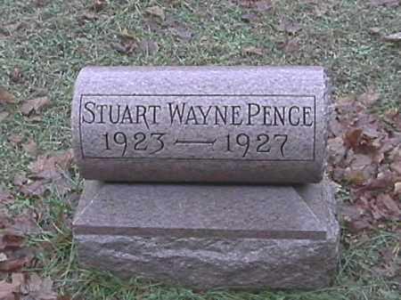 PENCE, STUART WAYNE - Champaign County, Ohio   STUART WAYNE PENCE - Ohio Gravestone Photos