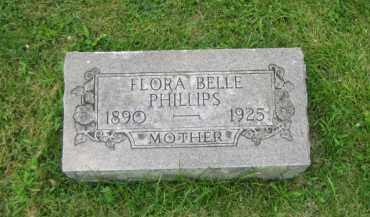 PHILLIPS, FLORA BELLE BRADLEY - Champaign County, Ohio | FLORA BELLE BRADLEY PHILLIPS - Ohio Gravestone Photos