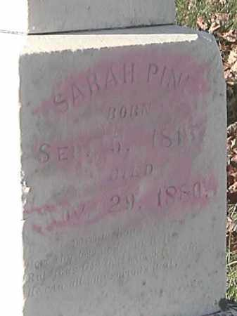 FOSTER PINE, SARAH A. - Champaign County, Ohio   SARAH A. FOSTER PINE - Ohio Gravestone Photos