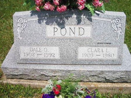 ABBOTT POND, CLARA LUCILLE - Champaign County, Ohio   CLARA LUCILLE ABBOTT POND - Ohio Gravestone Photos