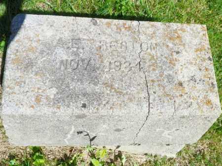PRESTON, A. E. - Champaign County, Ohio | A. E. PRESTON - Ohio Gravestone Photos