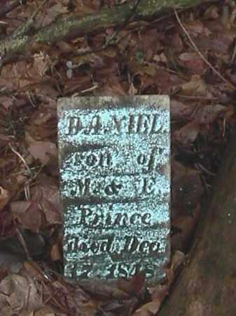 PRINCE, DANIEL - Champaign County, Ohio   DANIEL PRINCE - Ohio Gravestone Photos