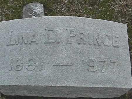 PRINCE, LINA D. - Champaign County, Ohio   LINA D. PRINCE - Ohio Gravestone Photos