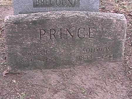 PRINCE, SOLOMON - Champaign County, Ohio   SOLOMON PRINCE - Ohio Gravestone Photos