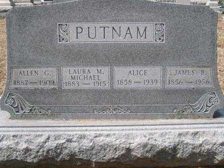 PUTMAN, ALLEN G. - Champaign County, Ohio | ALLEN G. PUTMAN - Ohio Gravestone Photos