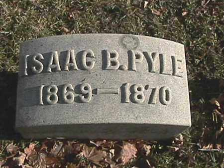 PYLE, ISAAC B. - Champaign County, Ohio   ISAAC B. PYLE - Ohio Gravestone Photos