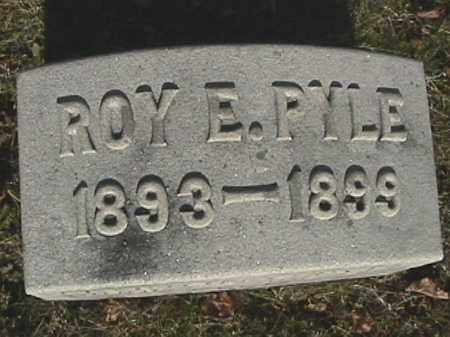 PYLE, ROY E. - Champaign County, Ohio | ROY E. PYLE - Ohio Gravestone Photos