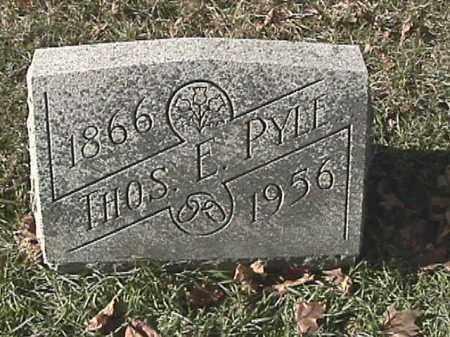 PYLE, THOMAS - Champaign County, Ohio | THOMAS PYLE - Ohio Gravestone Photos
