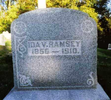 RAMSEY, IDA - Champaign County, Ohio   IDA RAMSEY - Ohio Gravestone Photos