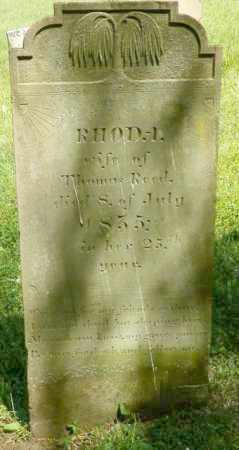 REED, RHODA - Champaign County, Ohio | RHODA REED - Ohio Gravestone Photos