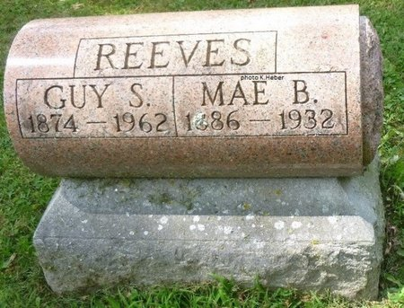 ALLEN REEVES, MAE BELLE - Champaign County, Ohio | MAE BELLE ALLEN REEVES - Ohio Gravestone Photos