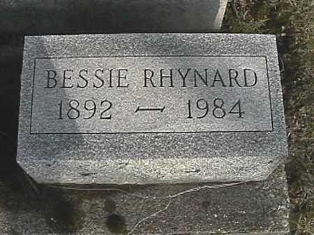 RHYNARD, BESSIE - Champaign County, Ohio | BESSIE RHYNARD - Ohio Gravestone Photos