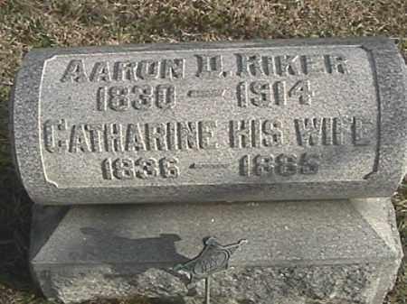 WILLIAMS RIKER, CATHARINE - Champaign County, Ohio | CATHARINE WILLIAMS RIKER - Ohio Gravestone Photos