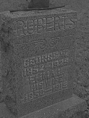 ROBERTS, EMMA L. IDLE - Champaign County, Ohio | EMMA L. IDLE ROBERTS - Ohio Gravestone Photos