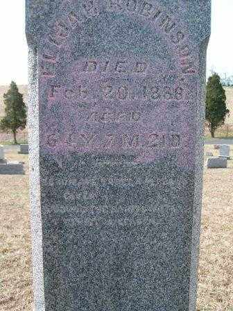 ROBINSON, ELIJAH - Champaign County, Ohio   ELIJAH ROBINSON - Ohio Gravestone Photos
