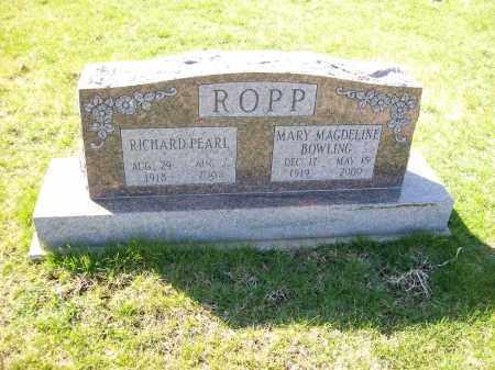 ROPP, MARY MAGDELINE - Champaign County, Ohio | MARY MAGDELINE ROPP - Ohio Gravestone Photos