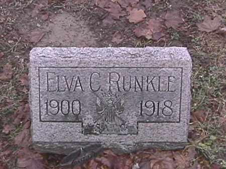 RUNKLE, ELVA C. - Champaign County, Ohio   ELVA C. RUNKLE - Ohio Gravestone Photos