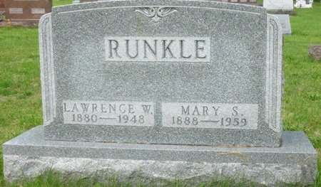 JENKINS RUNKLE, MARY SELMA - Champaign County, Ohio   MARY SELMA JENKINS RUNKLE - Ohio Gravestone Photos