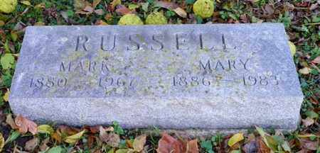 RUSSELL, MARY - Champaign County, Ohio | MARY RUSSELL - Ohio Gravestone Photos