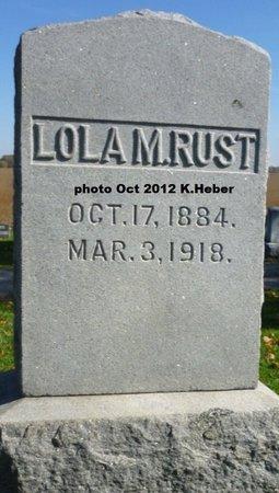 BAKER RUST, LOLA MYRTLE - Champaign County, Ohio | LOLA MYRTLE BAKER RUST - Ohio Gravestone Photos