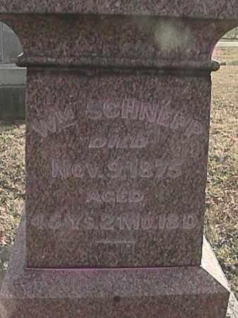 SCHNEPP, WILLIAM - Champaign County, Ohio   WILLIAM SCHNEPP - Ohio Gravestone Photos