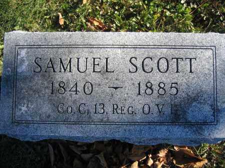 SCOTT, SAMUEL - Champaign County, Ohio | SAMUEL SCOTT - Ohio Gravestone Photos