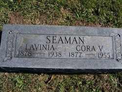 SEAMAN, LAVINIA - Champaign County, Ohio | LAVINIA SEAMAN - Ohio Gravestone Photos