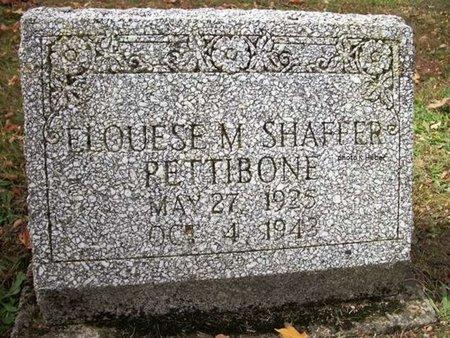 SHAFFER, ELOISE MAE - Champaign County, Ohio | ELOISE MAE SHAFFER - Ohio Gravestone Photos