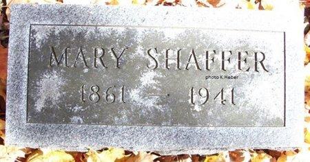 SHAFFER, MARY C - Champaign County, Ohio | MARY C SHAFFER - Ohio Gravestone Photos