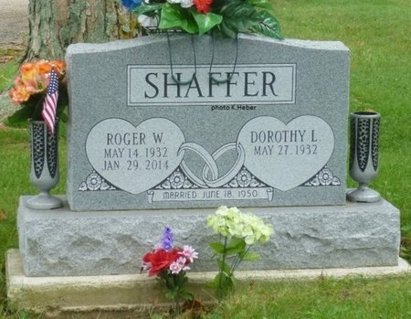 SHAFFER, DOROTHY LEE - Champaign County, Ohio | DOROTHY LEE SHAFFER - Ohio Gravestone Photos