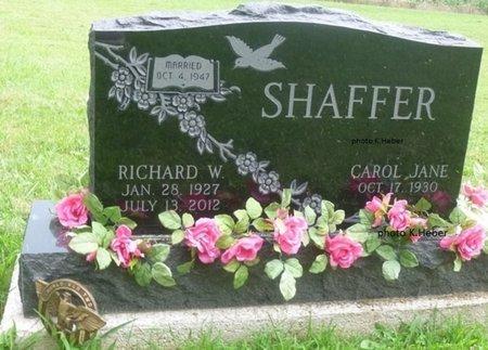 SHAFFER, CAROL JANE - Champaign County, Ohio | CAROL JANE SHAFFER - Ohio Gravestone Photos