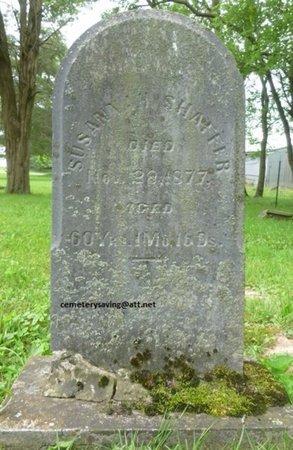 SHAFFER, SUSANNAH - Champaign County, Ohio | SUSANNAH SHAFFER - Ohio Gravestone Photos