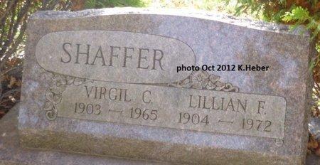 SHAFFER, VIRGIL CECIL - Champaign County, Ohio | VIRGIL CECIL SHAFFER - Ohio Gravestone Photos