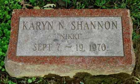 SHANNON, KARYN N. - Champaign County, Ohio | KARYN N. SHANNON - Ohio Gravestone Photos