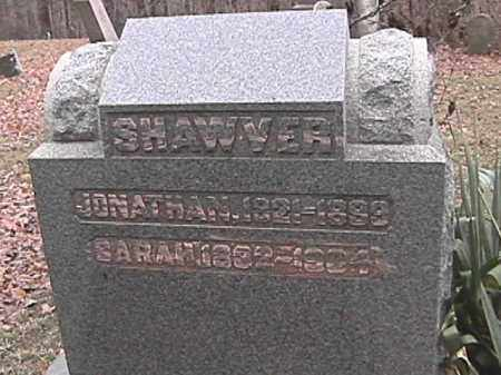 SHAWVER, JONATHAN - Champaign County, Ohio   JONATHAN SHAWVER - Ohio Gravestone Photos