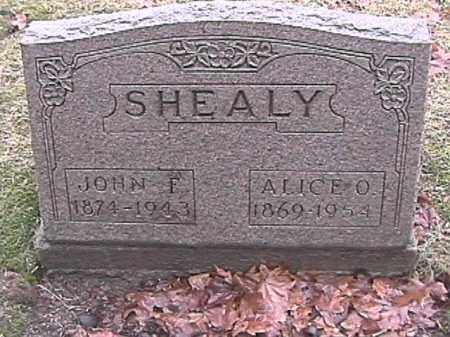 SHEALY, ALICE O. - Champaign County, Ohio | ALICE O. SHEALY - Ohio Gravestone Photos