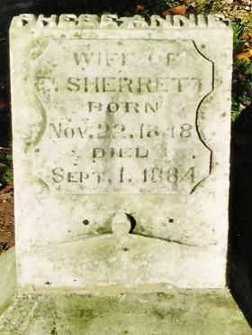 SHERRETT, PHEBE ANNIE - Champaign County, Ohio | PHEBE ANNIE SHERRETT - Ohio Gravestone Photos